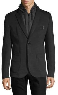 ProjekRaw Hooded Notch Jacket