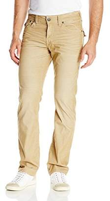 True Religion Men's Ricky Relaxed Straight Fit Corduroy Pant,x34