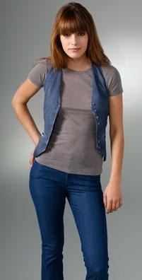Monrow Plain Vest