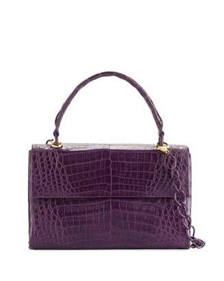 Nancy Gonzalez Medium Double-Gusset Crocodile Bag