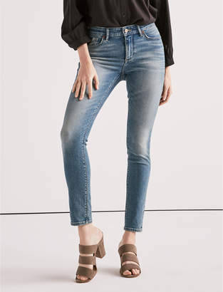 Lucky Brand AVA MID RISE SKINNY JEAN IN ROCKY RIVER