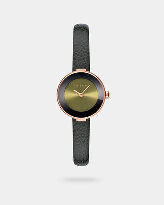 Ted Baker LENARAS Leather strap watch