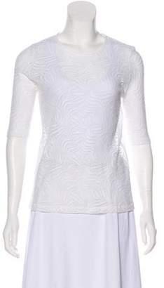 Roseanna Short Sleeve Lace Top