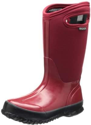 Bogs Kids' Classic High Waterproof Insulated Rubber Neoprene Rain Snow Boot