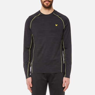 Lyle & Scott Men's Jenkins Long Sleeve Training T-Shirt