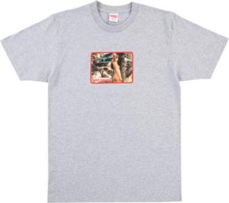 Supreme Larry Clark Girl Tee - Heather Grey