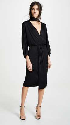 Diane von Furstenberg Front Twist Wrap Dress