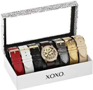 XOXO Women's XO9066 Analog Display Analog Quartz Black Watch