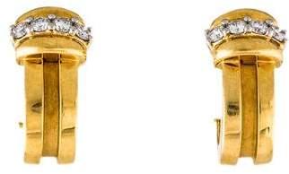 Tiffany & Co. Diamond Earclip Earrings