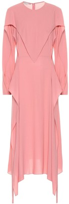 Stella McCartney Crepe midi dress