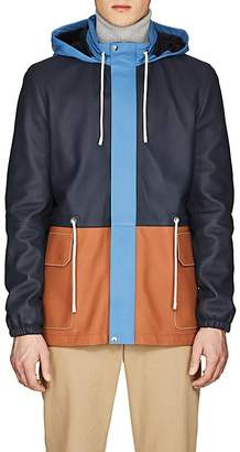 Loewe Men's Light Leather Hiking Jacket