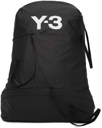 Y-3 Y 3 Black Logo Bungee Backpack