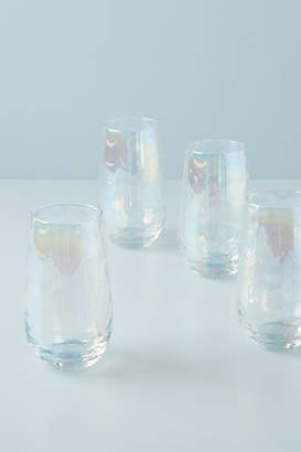 Anthropologie Gather by Lustered Highball Glasses, Set of 4