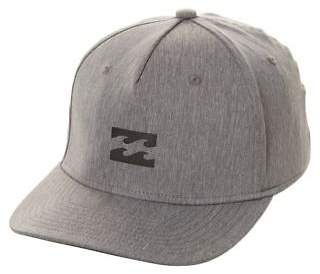 Billabong New Men's Platinum X Stretch Fitted Cap Fitted Grey