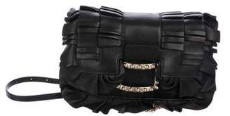Roger Vivier Viv Micro Frilly Crossbody Bag
