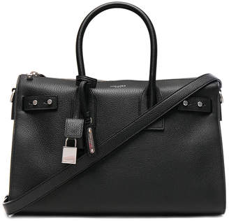 Saint Laurent Small Zipped Supple Sac de Jour Duffel Bag