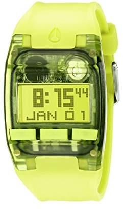 Nixon Men's A4082044 Comp Digital Display Automatic Self Wind Green Watch