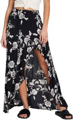 Billabong Kick Twist Floral Maxi Dress