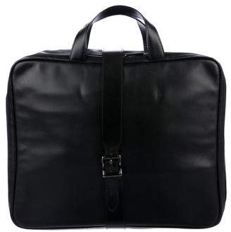 Gianni Versace Leather Briefcase