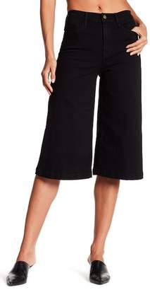 Frame High Waist Denim Gaucho Pants