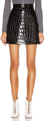 Miu Miu Mini Skirt in Black | FWRD