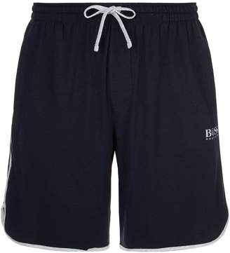 HUGO BOSS Piped Trim Lounge Shorts