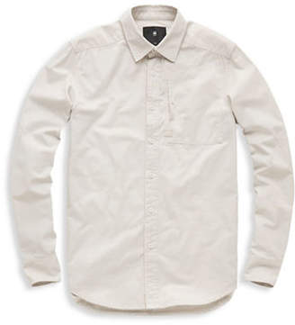 G Star Stalt Straight Cotton Sport Shirt