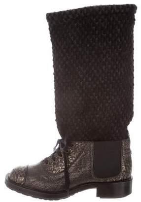 742facc128a Metal Cap Toe Boots - ShopStyle