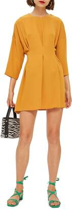 Topshop Tuck Minidress