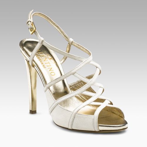 Valentino Cage Front Sandals