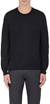 Brioni Men's Wool-Blend Sweater - Black
