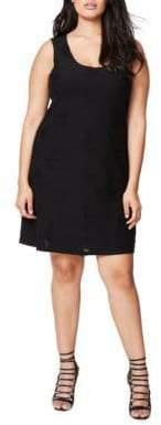 Rachel Roy Shredded Tank Dress
