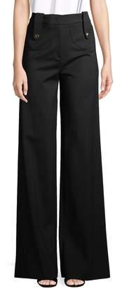 Derek Lam Women's Wide-Leg Trousers