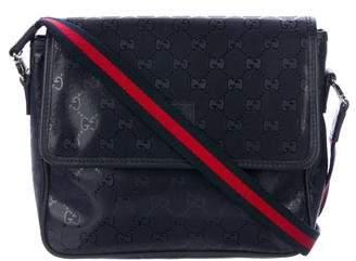 Gucci Kids' GG Imprime Messenger Bag