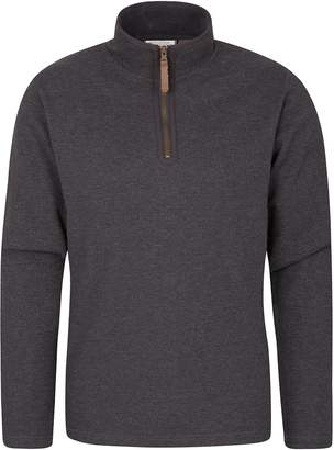 Warehouse Mountain Beta Mens Zip Neck Top - Warm All Season T-Shirt