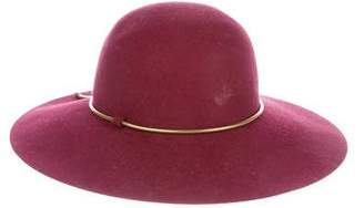 Lanvin Fur Felt Capeline Hat