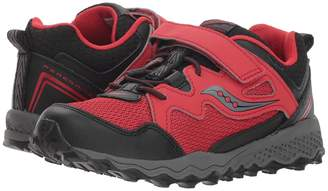 Saucony Kids Peregrine Shield 2 A/C Boys Shoes