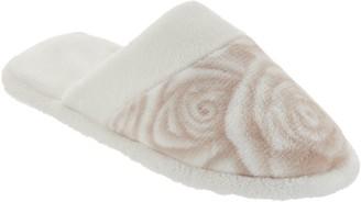 Casa Zeta Jones Casa Zeta-Jones Velvet Soft Signature Rose Slippers
