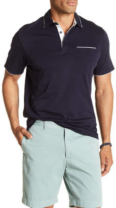 7 Diamonds Zephyr Contrast Piping Polo Shirt