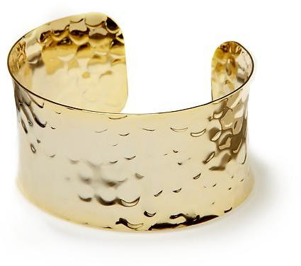 Hive & Honey Hammered Metal Cuff