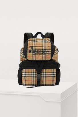 Burberry Wilfin nylon backpack