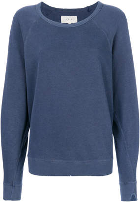 The Great distressed detail sweatshirt