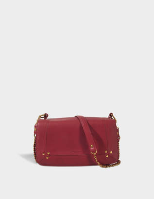 Jerome Dreyfuss Bobi Bag in Burgundy Calfskin