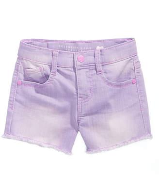 Celebrity Pink Super Soft Color Denim Shorts, Little Girls
