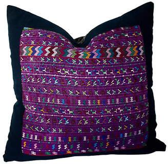 One Kings Lane Vintage Guatemalan Textile Pillow