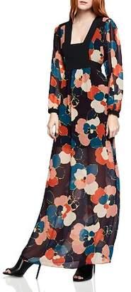 BCBGeneration Floral Print Maxi Dress