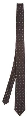 Dolce & Gabbana Silk Jacquard Tie - Mens - Black