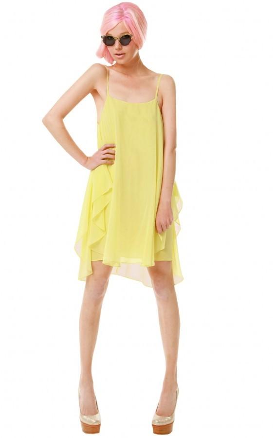 Cammie Trapeze Slip Dress