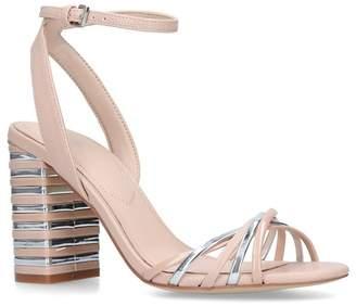 Aldo - Pink 'Taledia' Metallic Block Heel Sandals