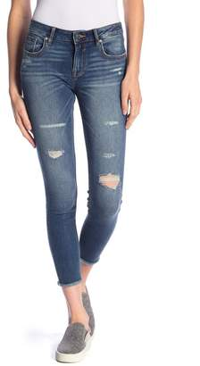 Vigoss Jagger Ripped Ankle Skinny Jeans